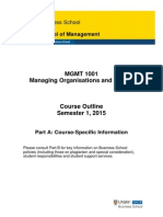 MGMT 1001 Course Outline (Part A)_S1_2015 (2015 03 18)