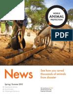 World Animal Protection Canada News - Spring/Summer 2015