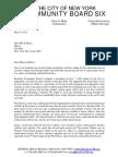 Brooklyn Community Board 6 May 2015 Position on Car Free Prospect Park