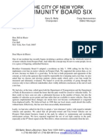 Brooklyn Community Board 6 May 2015 Position on Car Free Prospect Park
