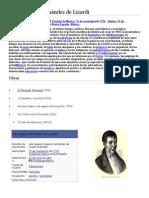 José Joaquín Fernández de Lizardi biografía