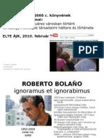 Roberto Boleno 2666