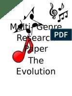 multi genre research paper