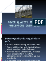 Power Quality and the Philippine Grid Code