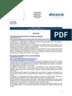 Noticias - News 9-Feb-10 RWI-DESCO