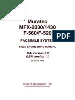 Muratec Mfx2030 1430 Service Manual