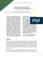 LA RESPONSABILIDAD SOCIAL EN LOS ESTUDIANTES  UNIVERSITARIOS. RESULTADOS DE UNA INTERVENCIÓN