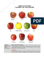 apples lesson plan