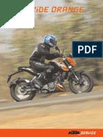 KTM Motorcycle India Tour Master