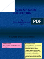 4 Sources of Data Collection