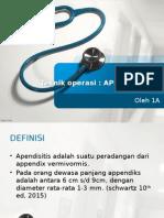 To Apendektomi