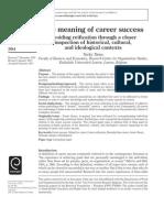 2011 Dries Career Reification CDi