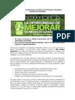 Cierra la III convocatoria del Proyecto Ganadería Colombiana Sostenible