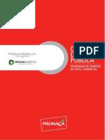 Circular de Oferta Publica de Papel Comercial