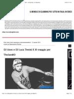 DJ Uovo e DJ Luca Trevisi Il 30 Maggio Per TheJamBO - Dj Mag Italia
