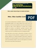 Mtra. Rita Castillo Contreras