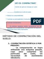 metodos de compactacion