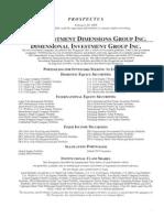 DFA 2009 Prospectus Cover