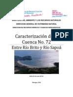 Caracterización de la Cuenca No. 72 - Rios Brito y Sapoa (1).pdf