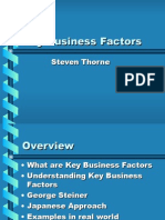 Key Business Factors