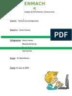Informe Historia de La Computacion