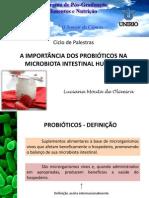 AULA -Probioticos - Ciclo de Palestras