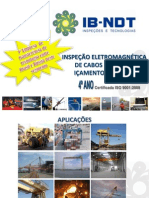 Cabo de Aço de Içamento de Carga - IB NDT
