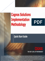 Cognos Solution Implementation Methodology