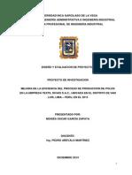 Diseño y Evaluacion de Proyectos