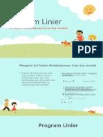 Program Linier Presentasi