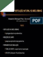 7330112 Conforto Ventilacao Urbana Aula Em Slides FAUUSP[1]