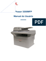 Manual Impressora Phaser 3200MFP