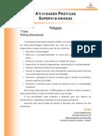 ATPS Politicas Educacionais (1)