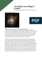 Strange Stars Pulsate According to The