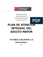 Atencion Integral Del Adulto Mayor