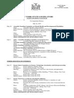 May 22, 2015 - Public Hearing Calendar
