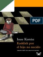Kaddish por el hijo no nacido   Imre Kertesz.pdf