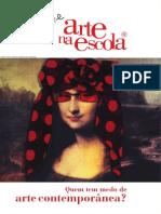 Arte Na Escola-boletim 68-Quem Tem Medo de Arte Comtemporânea