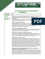 Elaboracao de Planilhas de Orcamento de Obras-Informacoes