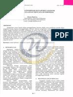 Pemetaan sistem informasi manajemen logistik dalam penanggulangan bencana di indonesia.pdf