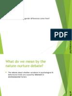 Umair Nature vs Nurture Ppt