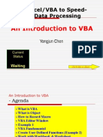 Introduction to Excel VBA Macros