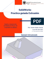 SolidWorks 02C Solid Practica Guiada Extruida