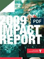 YMCA -- 2009 Impact Report