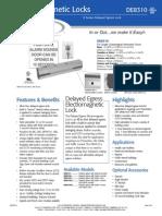 Rutherford DE8310 Data Sheet