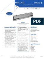 Rutherford EW8310 Data Sheet
