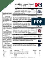 Minor League Report 15.05.22
