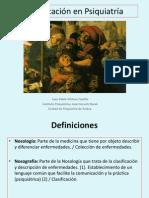 Clasificación en Psiquiatría Clase 42015