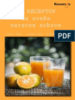 44 receptov za sveze naravne sokove
