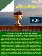 israel - Haifa - Gradinile Bahay